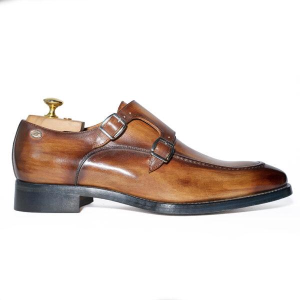 zanni-men-shoes-made-in-italy-italian-leather-handmade-barbara-zanni-designer-buckles-cefalù-cognac-color-new-york-united-states-fashion-style-scarpe-uomo-roma